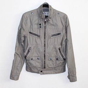KANE & UNKE Grey Jacket Size Small
